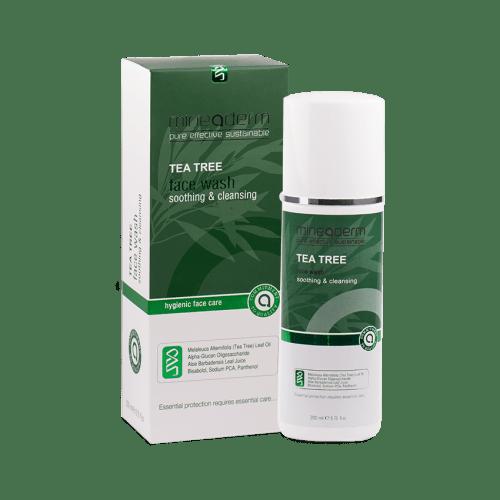 ژل پاک کننده ضدجوش و تنظیم چربی حاوی درخت چای