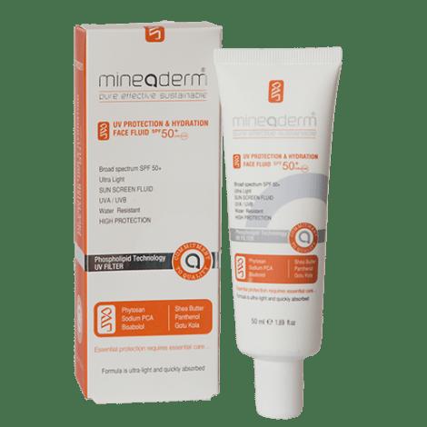 ضدآفتاب مایع و آبرسان مخصوص پوست های حساس SPF50
