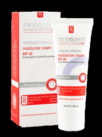 کرم ضد پیری ، بازسازی مرطوب کننده دارای ضد آفتاب (پوست های حساس)