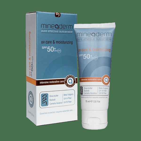 کرم مرطوب کننده و ضدآفتاب SPF50