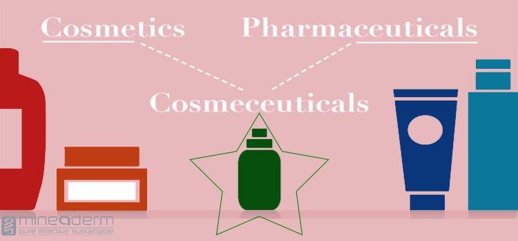 تفاوت cosmetics و cosmeceuticals